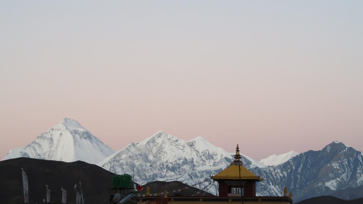 dhaulagiri în annapurna circuit
