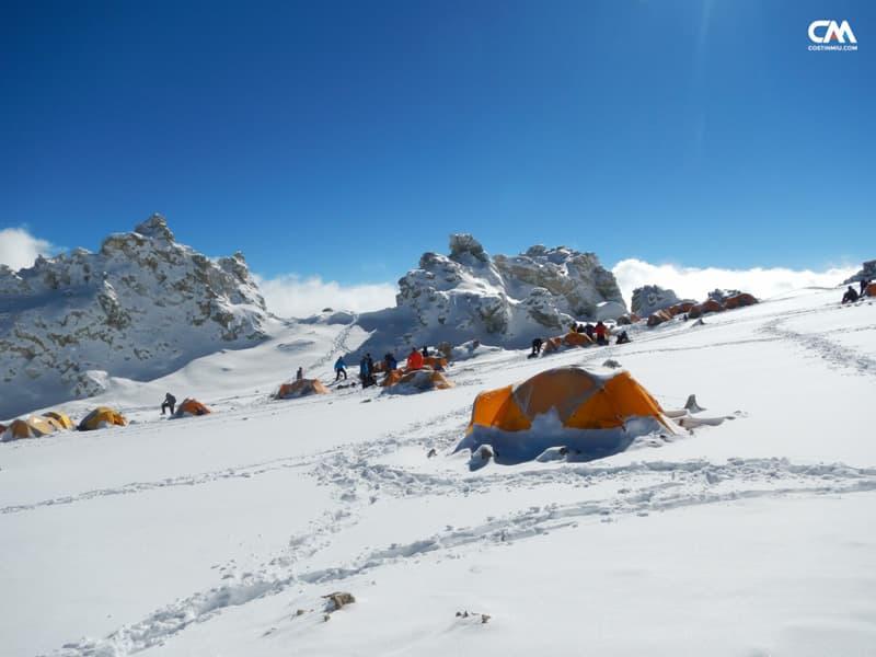 colera camp (6000m), aconcagua