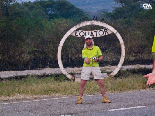 costin miu pe ecuator, uganda