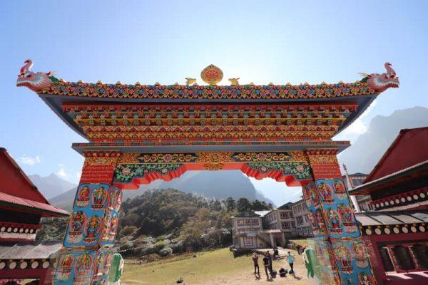 Mănăstirea Thengboche, Everest Base Camp trekking