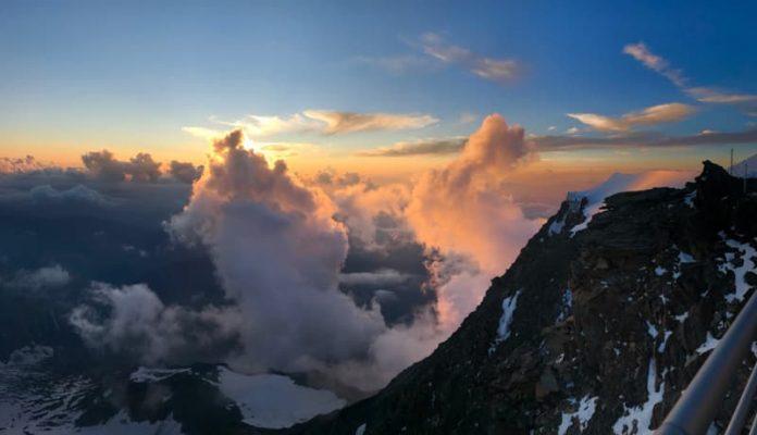 Apus la Gouter, mont blanc