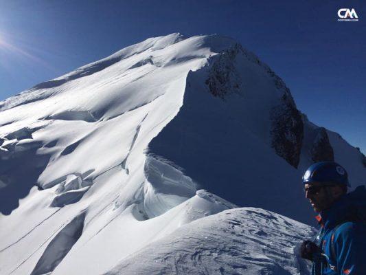 Costin Miu și ruta clasică spre Mont Blanc