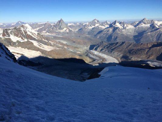 monte rosa glacier, elveția