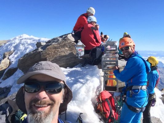 costin miu pe monte rosa, alpi, elveția